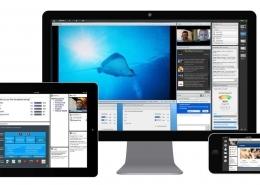 3 - این برنامه قابل استفاده بر روی کامپیوتر، تبلت و آی پد . گوشی موبایل است